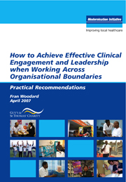 >How to achieve effective clinical engagement and leadership when working across organisational boundaries