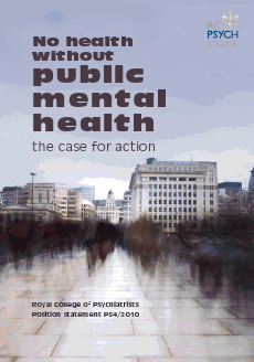 No health without public mental health