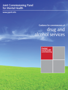 Guidance for commissioners of drug and alcohol services