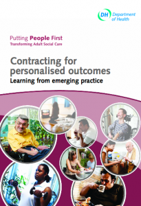 Contracting for personalised outcomes: learning from emerging practice