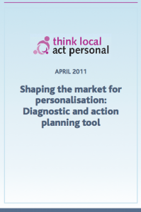 Shaping the market for personalisation: Diagnostic and action planning tool