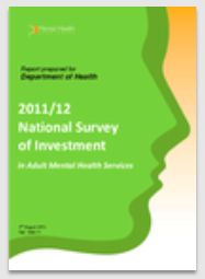 2011/12 National Survey of Investment in Adult Mental Health Services