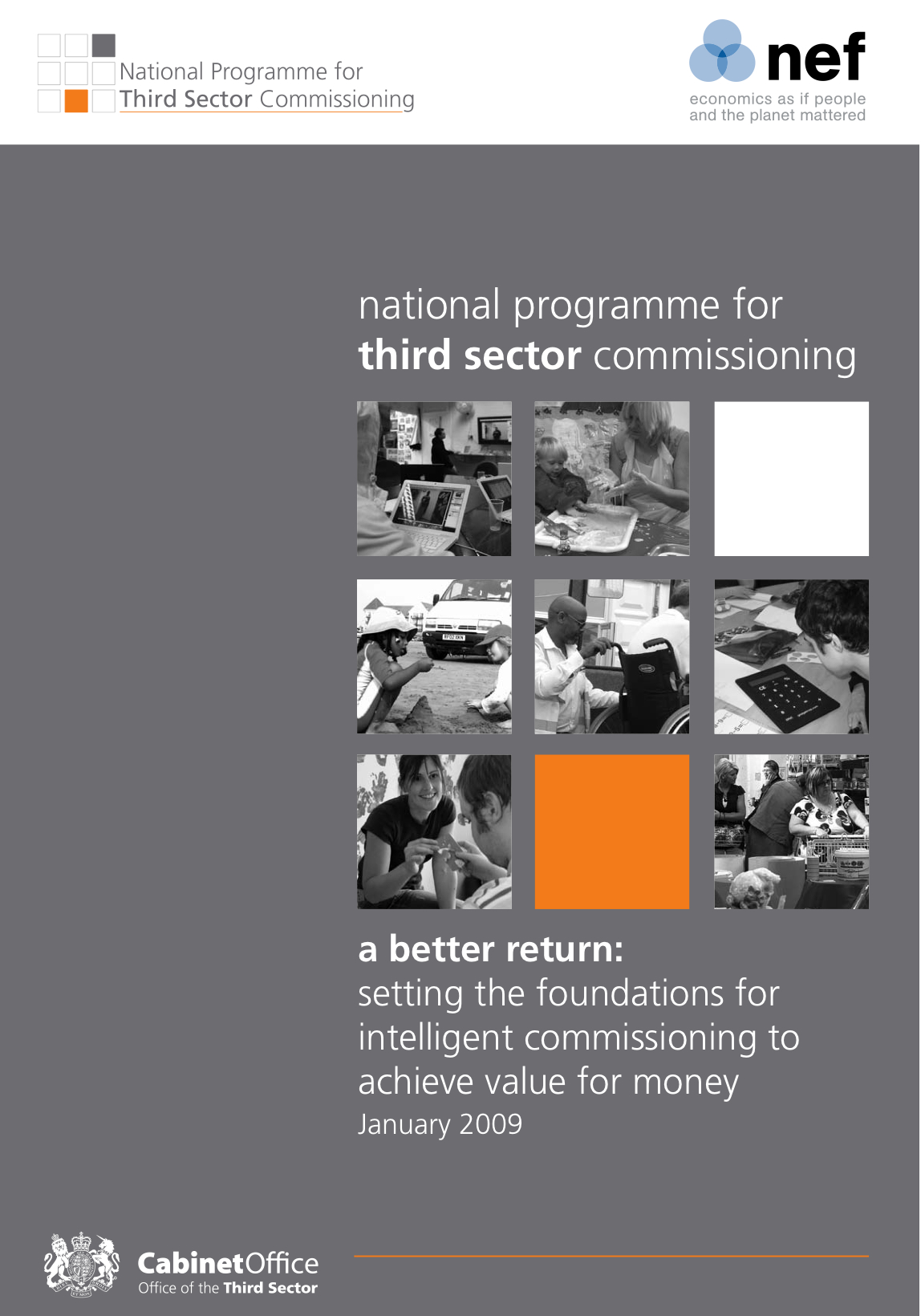 A better return: setting the foundations for intelligent commissioning to achieve value for money