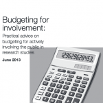 Budgeting for involvement