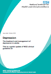 NICE Guidelines CG91: The treatment and management of depression in adults with chronic physical health problems