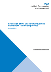 Evaluation of the Leadership Qualities Framework 360 review process