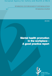 Mental health promotion in the workplace