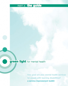 Green light for mental health: a service improvement toolkit