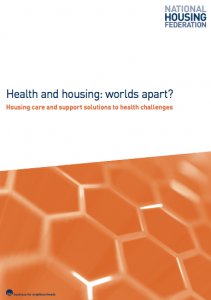Health and housing: worlds apart?