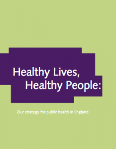 the governments white paper for health