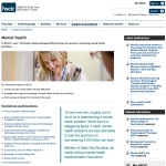 Health and Social Care Information for Mental Health
