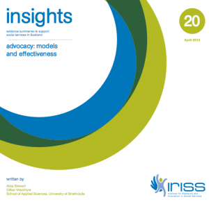 Advocacy: models and effectiveness