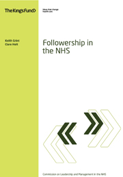 Followership in the NHS