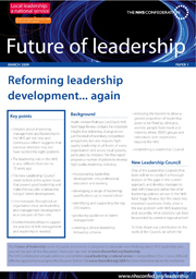 Reforming leadership development ... again