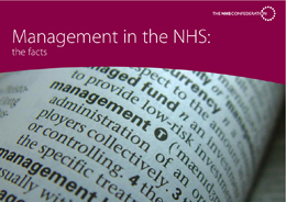 Management in the NHS: the facts