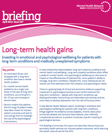caring for individuals with long term