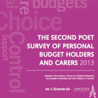 Second National Personal Budget Survey
