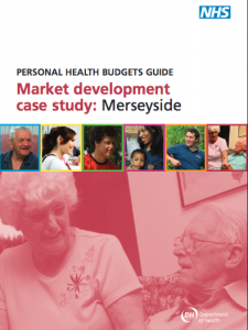 Personal health budgets guide: Merseyside market development case study
