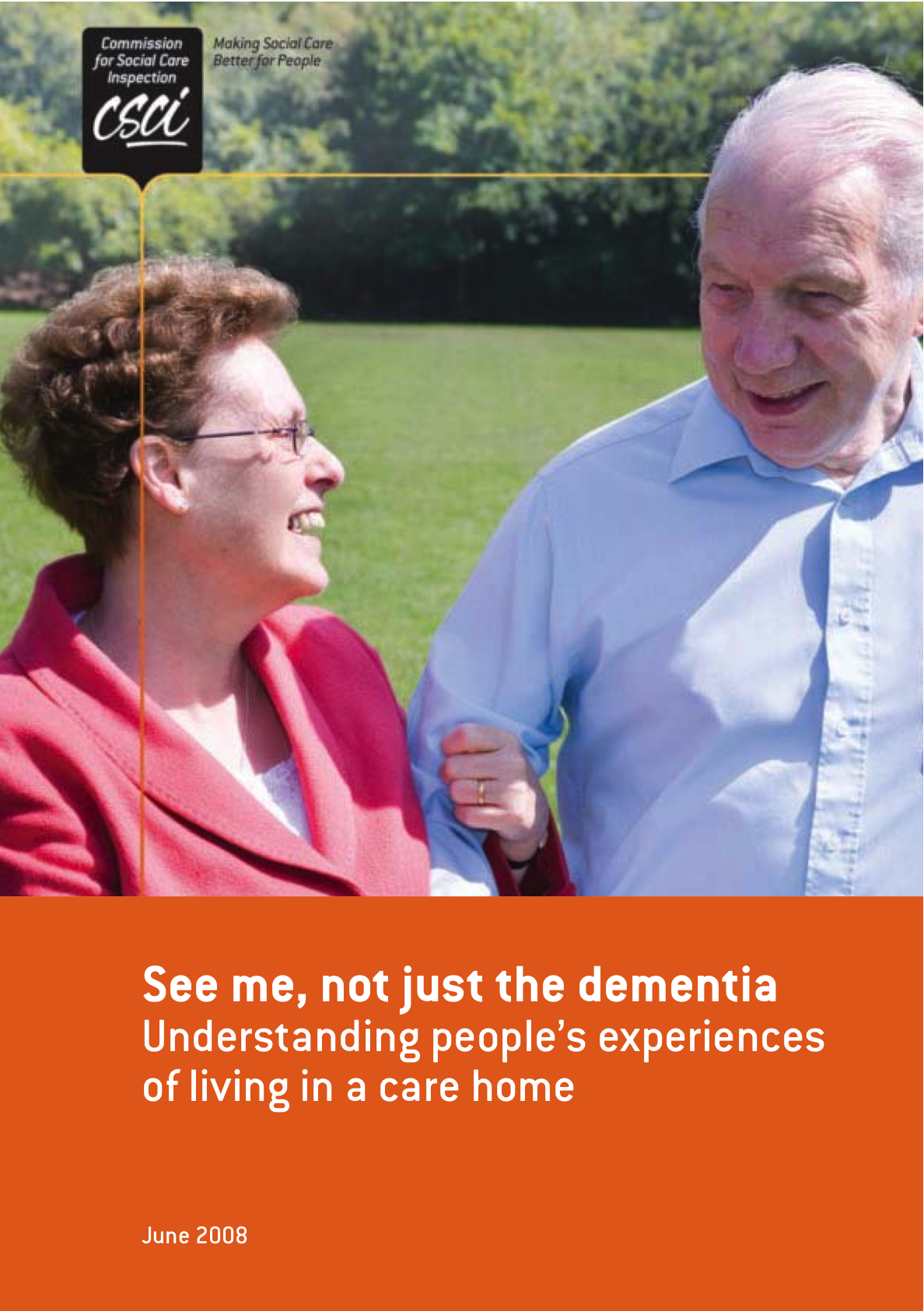 See me, not just the dementia