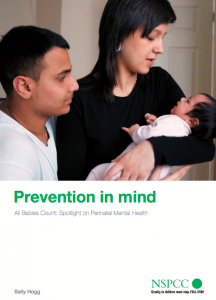 All Babies Count: spotlight on perinatal mental health