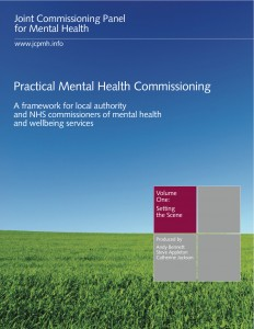 Practical mental health commissioning, Volume 1