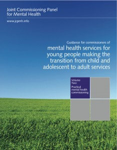 Guidance for commissioners of mental health services for young people making the transition from child and adolescent to adult services, Volume 2